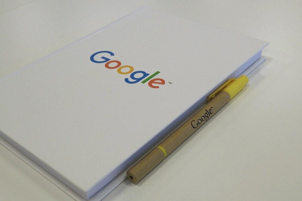 Image of Google notebook.